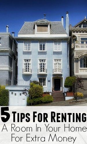 5 Tips For Renting Out a Room In Your Home For Extra Money