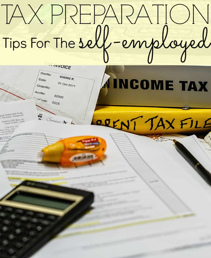 Tax Tips For Self Employed self employment taxes